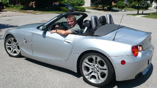 Me in the BMW Z4